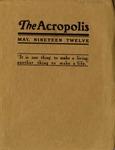 1912 May Acropolis