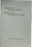 1959 Commencement Address and Dedication of Buildings