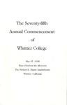 1978 Commencement Program