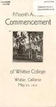 1918 Commencement Program