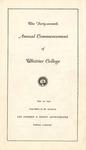 1950 Commencement Program
