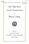 1956 Commencement Program