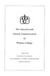 1970 Commencement Program