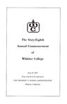 1971 Commencement Program