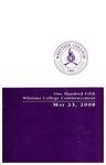 2008 Commencement Program