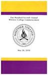 2010 Commencement Program