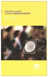 2013 Commencement Program
