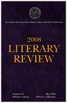 2008 Literary Review (no. 21) by Sigma Tau Delta