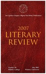 2007 Literary Review (no. 20) by Sigma Tau Delta