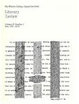 1986 Literary Review (vol. 2, no. 1)