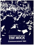 The Rock, Summer 1981 (vol 51, no. 2) by Whittier College
