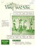 The Rock, October, 1953 (vol. 15, no. 3)