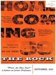 The Rock, September, 1959 (vol. 21, no. 3)