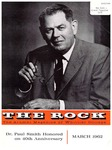 The Rock, March, 1962 (vol. 24, no. 1) by Whittier College